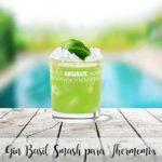 Gin Basil Smash do Thermomixa