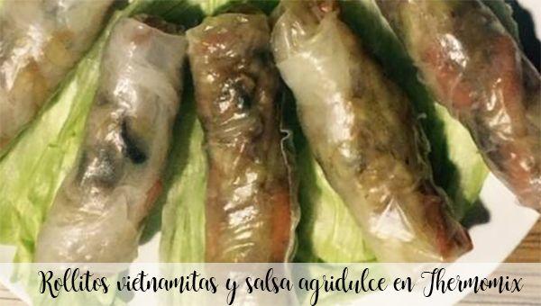 Wietnamskie bułeczki i sos słodko-kwaśny w Thermomixie