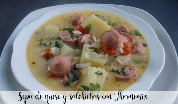 Zupa serowo-kiełbasowa z Thermomixem