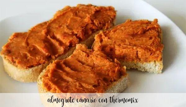 Almogrote kanaryjskie z Thermomixem