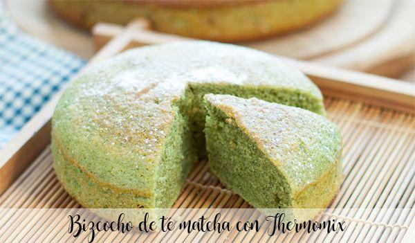 Ciasto z herbatą Matcha z Thermomixem