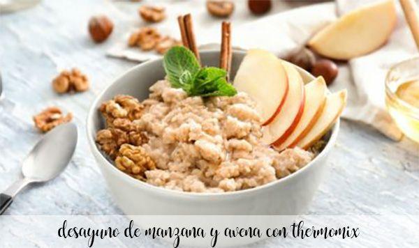 Śniadanie jabłkowo-owsiane z Thermomixem