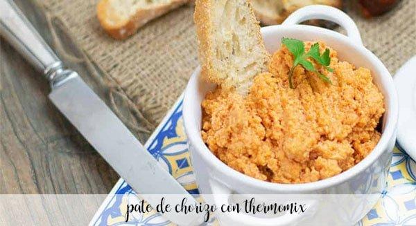 Pasztet Chorizo z Thermomixem