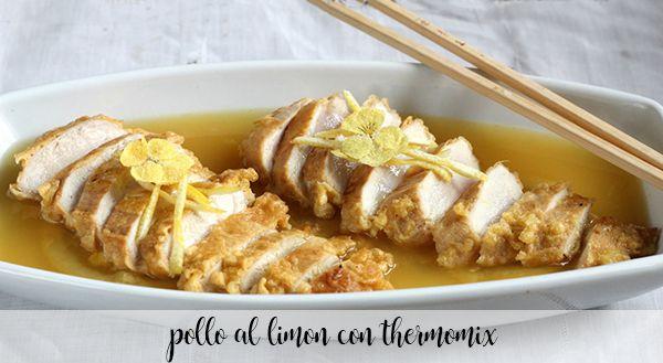 kurczak cytrynowy z termomiksem