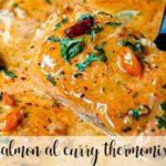 Curry z łososia z termomiksem