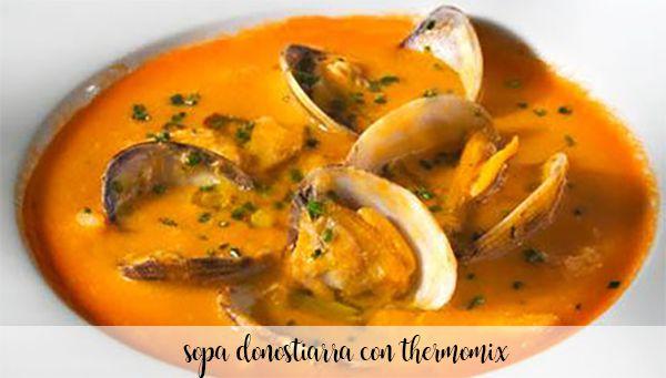 Zupa Donostiarra z Thermomixem