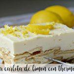 Ciasto cytrynowe Carlota z Thermomixem