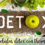 10 napojów DETOX z termomiksem na poprawę zdrowia