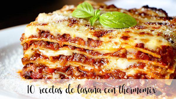 20 przepisów na lasagne z termomiksem