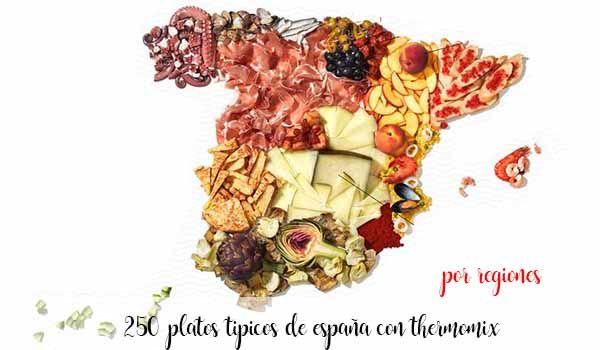 250 typowych dań hiszpańskich z Thermomixem