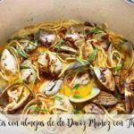 Spaghetti Daviz Muñoz z małżami z Thermomixem