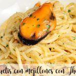 Spaghetti z małżami z Thermomixem