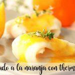 Podeszwa z pomarańczą z termomiksem