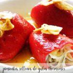 Papryczki Piquillo faszerowane węgorzem z Thermomixem