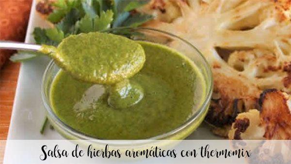 Aromatyczny sos ziołowy z termomiksem
