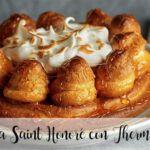 Ciasto Saint Honoré z Thermomixem