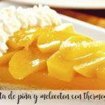 Ciasto ananasowo-brzoskwiniowe z Thermomixem