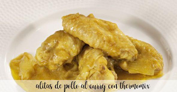 skrzydełka z kurczaka curry z termomiksem