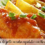 Skrzydełka z kurczaka w sosie słodko-kwaśnym z Thermomixem