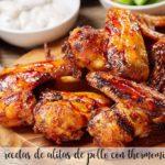 25 przepisów na skrzydełka z kurczaka z termomiksem