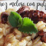 Kremowy ryż lub Rissoto z ośmiornicą z Thermomixem