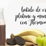 Koktajl Oreo, Banan i Jabłko z Thermomixem