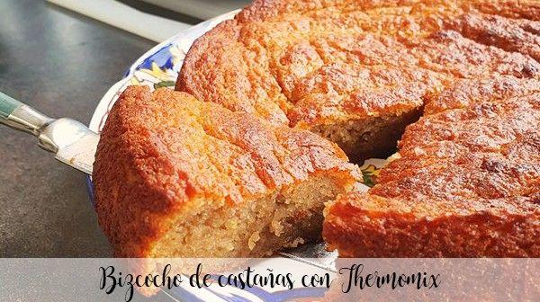 Ciasto kasztanowe z Thermomixem
