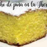 Ciasto ananasowe w Thermomixie