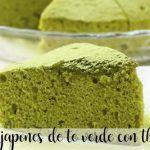 Japońskie ciasto z zielonej herbaty z Thermomixem