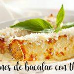 Cannelloni z dorsza z Thermomixem