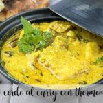 Kotlet schabowy curry z Thermomixem