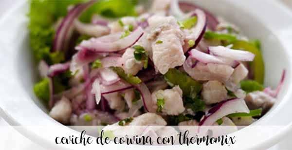 Ceviche Corvina z termomiksem