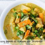 Japońskie curry warzywne z Thermomixem