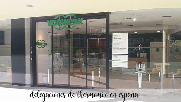 Oddziały Thermomix w Hiszpanii