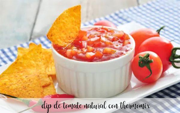 Naturalny dip pomidorowy z termomiksem