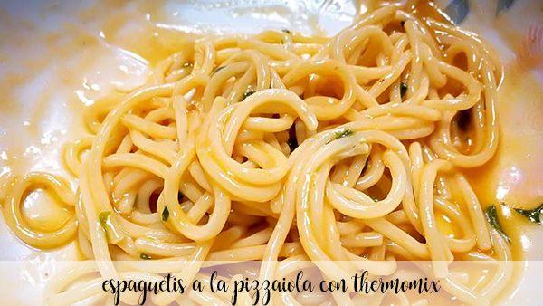 pizzaiola spaghetti z termomiksem