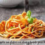 Bezglutenowe spaghetti z tuńczykiem i pomidorem do termomiksu
