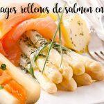 Szparagi faszerowane łososiem z ostrym sosem termomiks