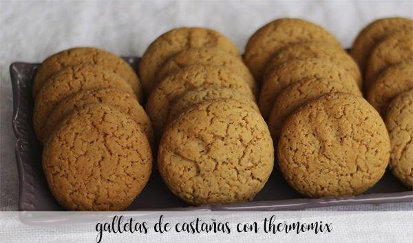 kasztanowe ciasteczka z termomiksem