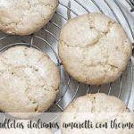 Włoskie ciasteczka amaretti z Thermomixem