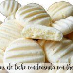 Skondensowane ciasteczka mleczne z Thermomixem