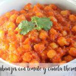 Ciecierzyca z Pomidorem i Cynamonem z Thermomixem