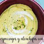 Gazpacho ze szparagami i karczochami z termomiksem