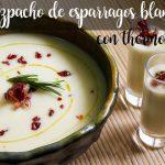 Gazpacho z białych szparagów z termomiksem