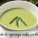Gazpacho z zielonymi szparagami z termomiksem