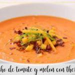 Gazpacho pomidorowo-melonowe z termomiksem