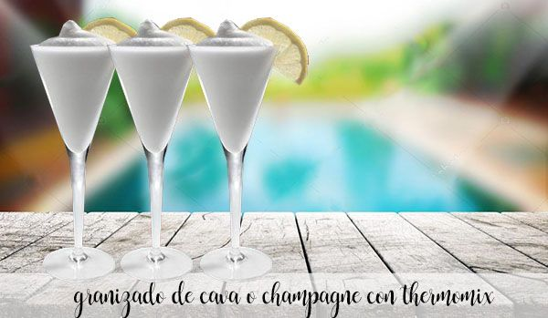 Granita szampańska lub cava z Thermomixem