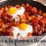 Jajka flamenco z termomiksem