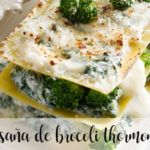 Lasagne brokułowa z Thermomixem