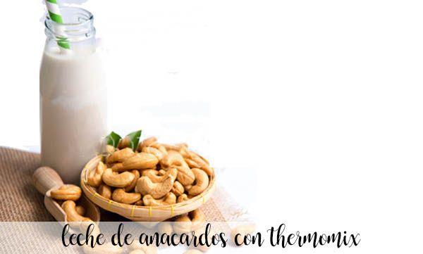 mleko nerkowca z thermomixem